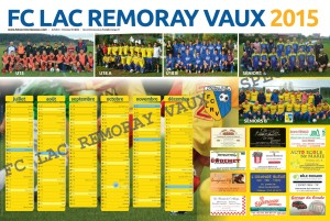 Calendrier 2015 FC Lac Remoray Vaux Page 2